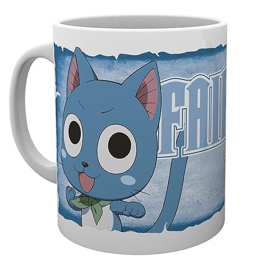 GB Eye, Fairy Tail, Feliz, Taza: Amazon.es: Hogar