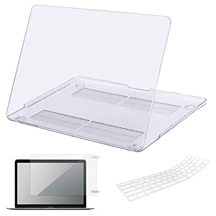 promo code bb2f5 59c8c MacBook Air 13 Inch Case, Lacdo Laptop Hard Case Shell Cover Screen  Protector Keyboard Skin Compatible MacBook Air 13.3
