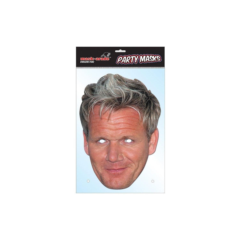 Amazon.com: Gordon Ramsay Celebrity Card Face Mask: Clothing