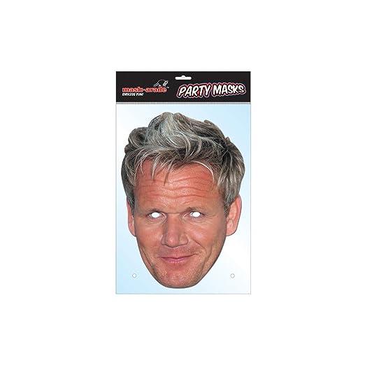 Amazon Gordon Ramsay Celebrity Card Face Mask Clothing