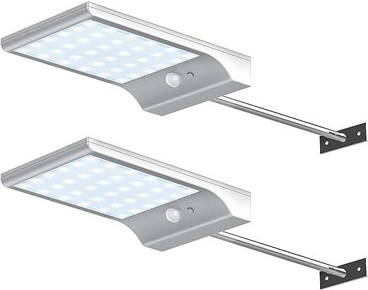aplique solar aliexpress luces para exterior de casa lamparas para jardin luces de jardin lampara exterior panel solar portatil aplique solar led exterior sin sensor aplique solar amazon: Amazon.es: Iluminación