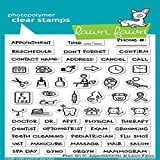 Lawn Fawn Clear Stamps 4''X6'' - LF1697 Plan On It: Appointments