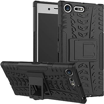 pinlu® Funda para Sony Xperia XZ Premium Smartphone Doble Capa ...