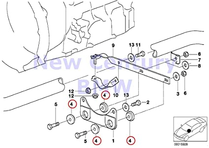 Amazon Com Bmw Genuine Exhaust System Joint Sleeve D8mm 528e 325i