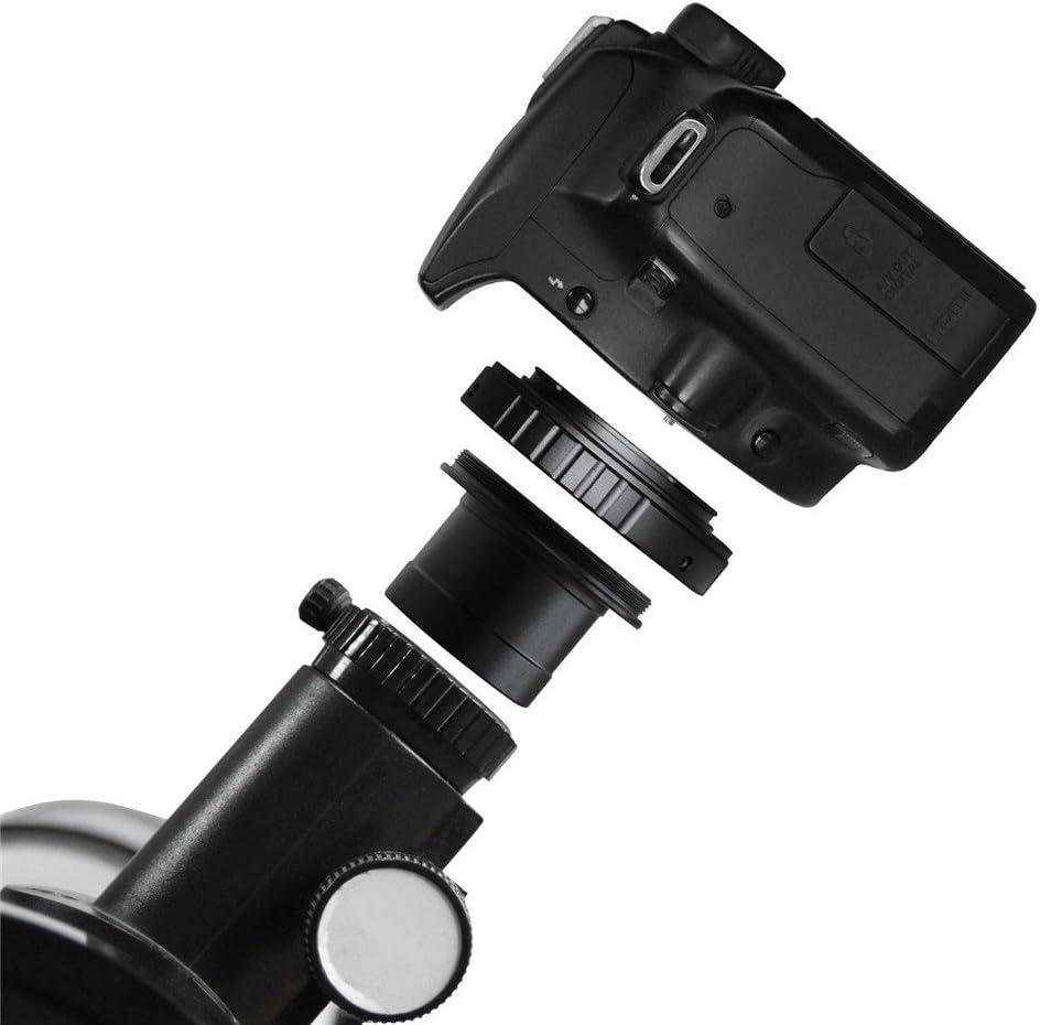 Homyl Anillos Adaptadores Telescopio Objetivo C/írculo Tipo T para Olympus E-330 E-400 E-420 E-410