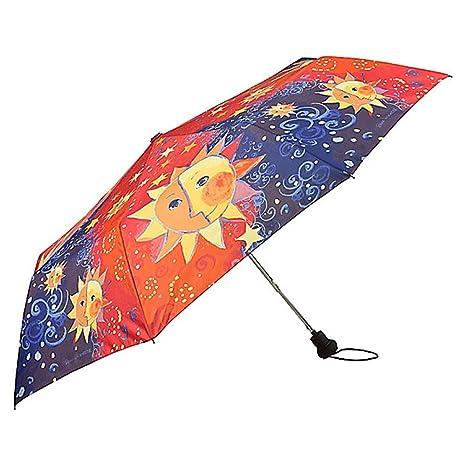 VON LILIENFELD Paraguas de bolsillo motivo del arte Rosina Wachtmeister:Sole
