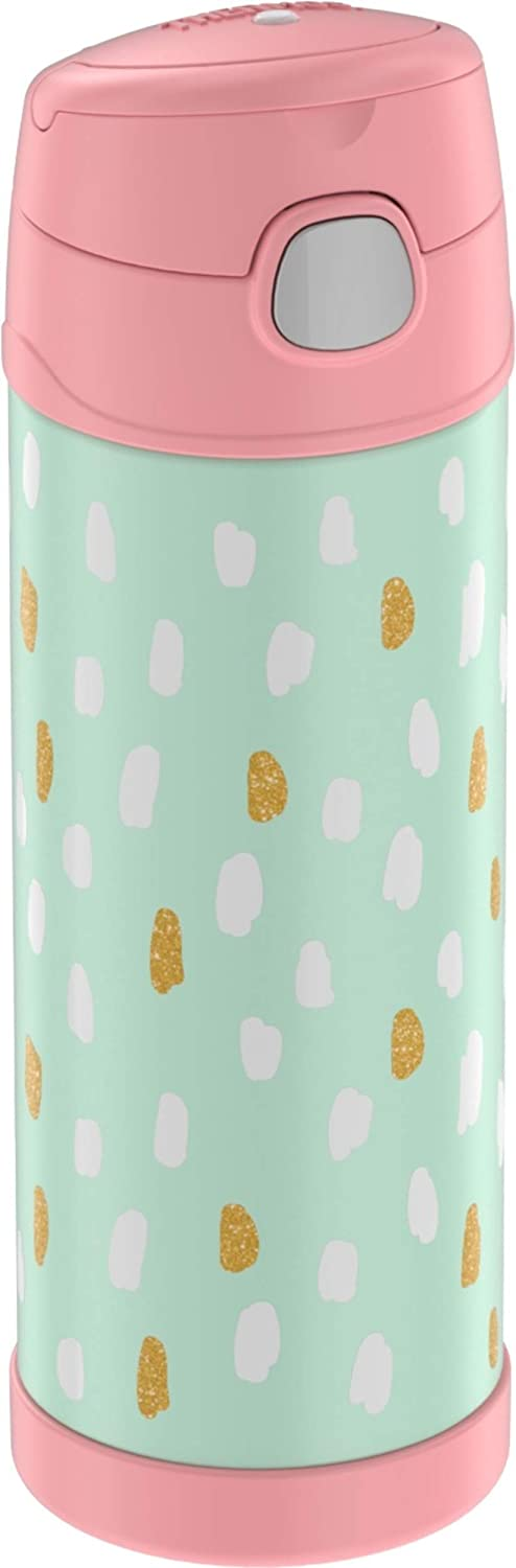 Thermos Funtainer 16 Ounce Bottle, Paint Dots