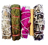 Smudging is a simple ritual designed to clear negativity energy. It helps to purify, re-energize, restore, cleanse and balance you or your space, yourself or and other person with peace, calmness, and positive intentions. This kit is a wonderful gift...
