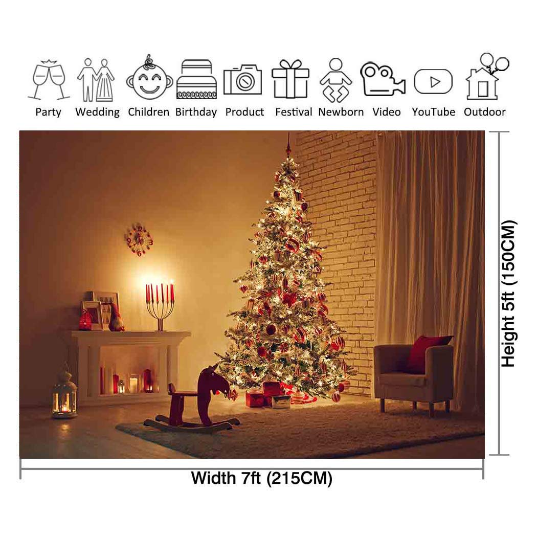 Colorful Christmas Background For Kids.Amazon Com Allenjoy 7x5ft Christmas Photography Background