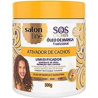 Ativador Cachos 500 ml Umedecidos Pote Unit, Salon Line