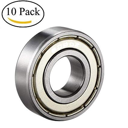 608 ZZ High Quality Ball Bearing// 10Pcs Metal Shields SkateBoard 8*22*7mm