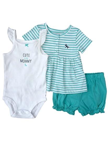 792ef1239 Amazon.com  Carter s Infant Girls Cute Like Mommy Creeper Shirt ...