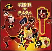 Los increíbles 2. Cine en casa: Cuento y proyector Disney ...