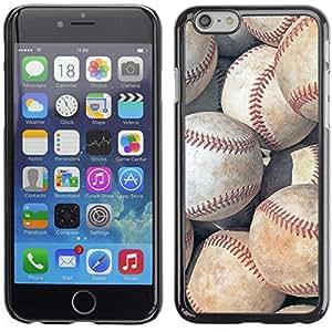 Graphic4You Deportes Tema Del Béisbol Diseño Carcasa Funda Rigida para Apple iPhone 6 Plus / 6S Plus