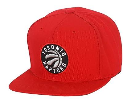 9ceff00a4c6 Toronto Raptors Mitchell   Ness NBA Current Wool Solid 2 Snapback Cap ...