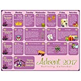 2017 Children's Activity Christmas Advent Calendar, Pack of 100