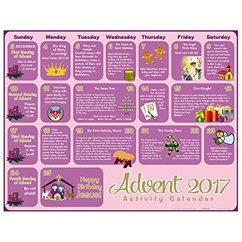2017 Children's Activity Christmas Advent Calendar, Pack of 100 by Christmas Advent Calendars (Image #1)