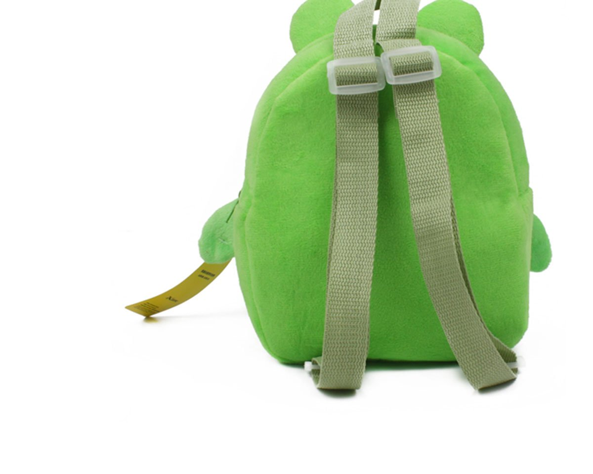 Kaden G-P New top qualtiy baby school bags children character design backpack girls and boys lovely plush toy school bags //Little Kid cute Pack Backpack cartoon pupil school bags 23x21cm, Penguin Green