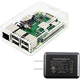Raspberry Pi3 Model B+ ボード&ケースセット 3ple Decker対応-Physical Computing Lab (CLR-PW)