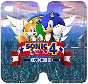 Leather Smart Cover With Flip Stand Phone Case iphone 6 6S 4.7 inch-Game boy Sonic The Hedgehog-16