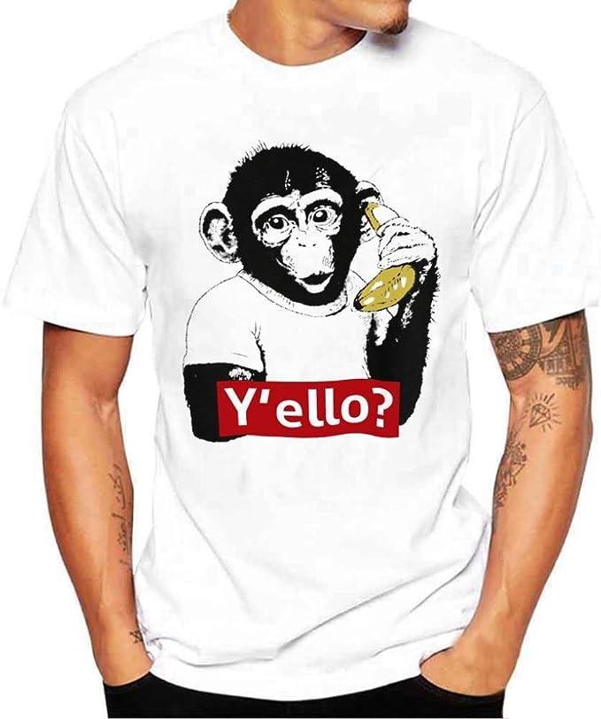 tee shirt imprimé homme pas cher