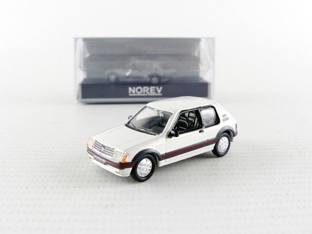 Norev 471712 - Peugeot 205 GTi - 1984 - (escala 1/87 - Color blanco: Norev: Amazon.es: Juguetes y juegos