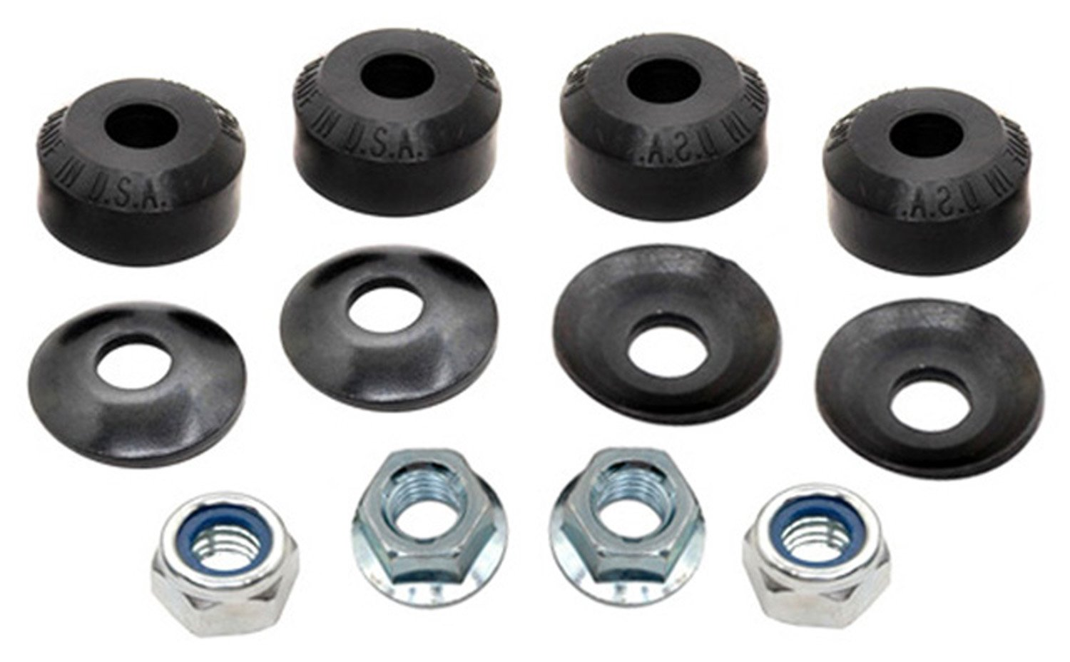 ACDelco 45G0021 Professional Front Suspension Stabilizer Bar Link Kit with Hardware