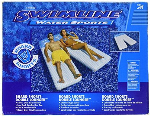 Swimline Board Shorts Double Mat