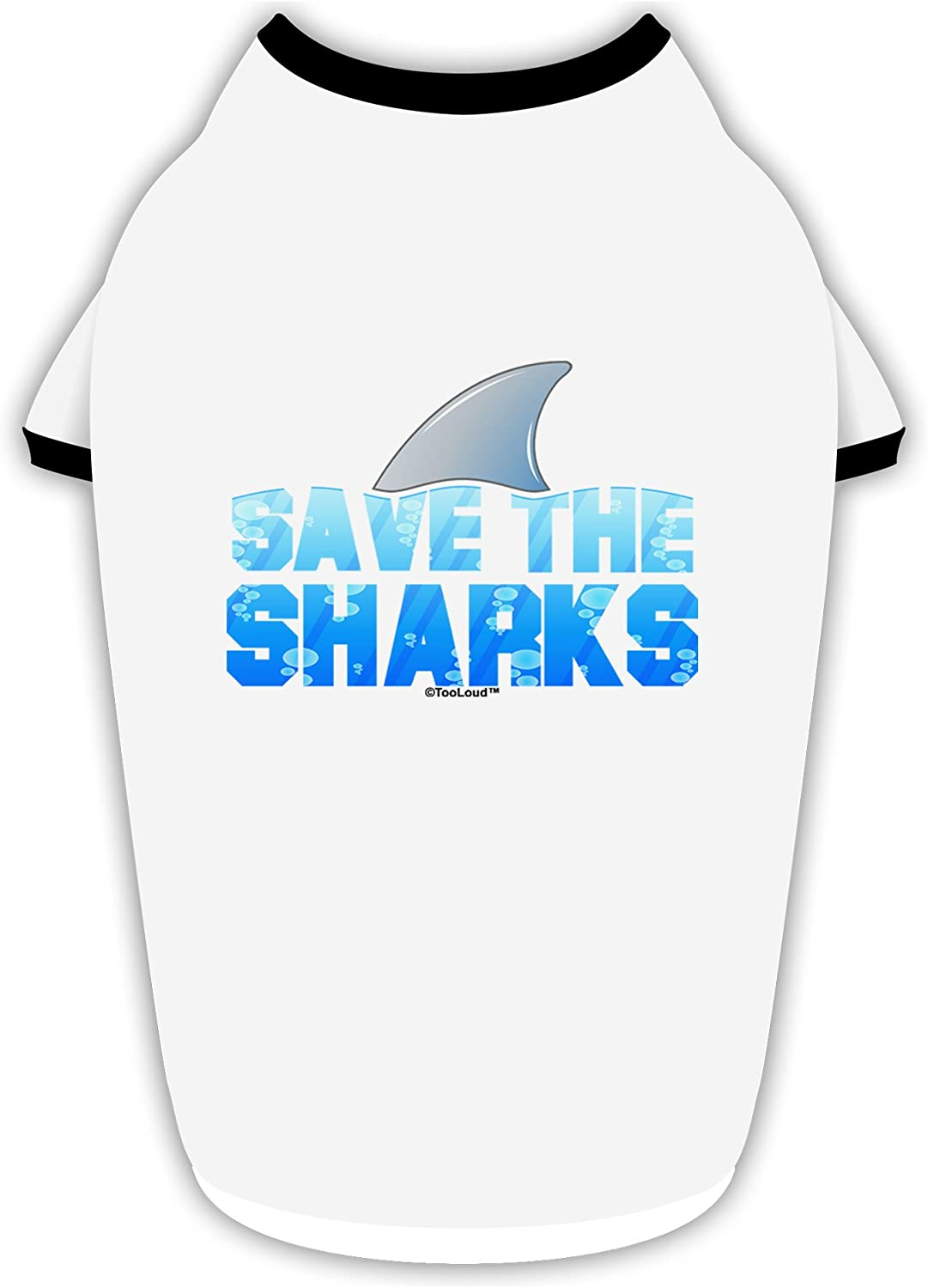 Fin Color Infant T-Shirt TooLoud Save The Sharks