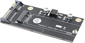 Carbon 20+6 Pin SSD to SATA 2.5 Adapter Converter for Thinkpad Lenovo X1