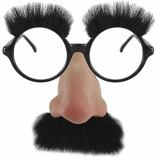 169cea9691 Amazon.com  elope Groucho (Black)  Clothing
