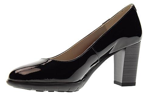 CALLAGHAN Scarpe Donna Decollete con Tacco 21300 Taglia 39 Nero  Amazon.it   Scarpe e borse 49b2cb5b53f