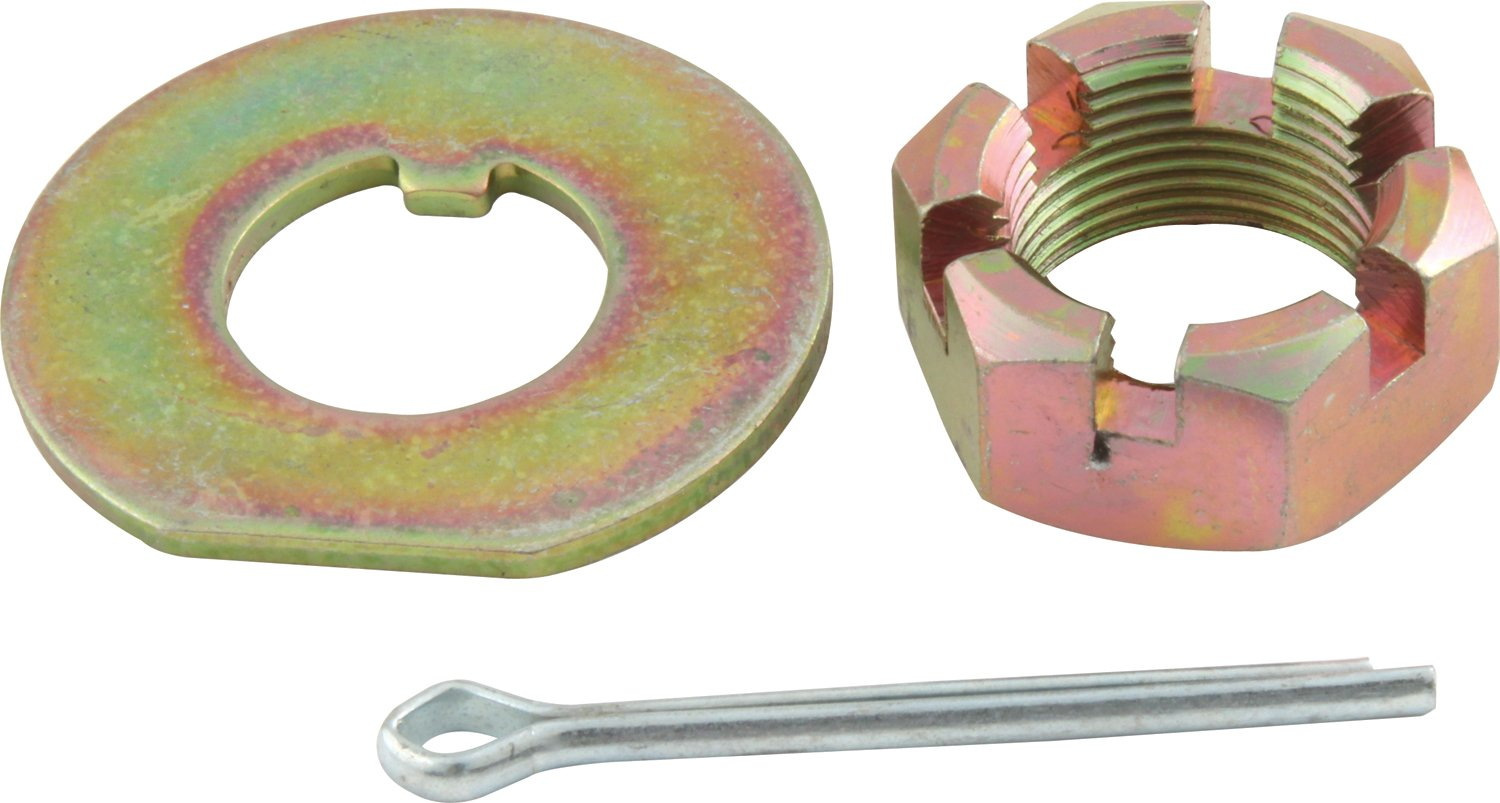 Allstar ALL72160 Spindle Lock Nut Kit for Stock GM Metric Spindles