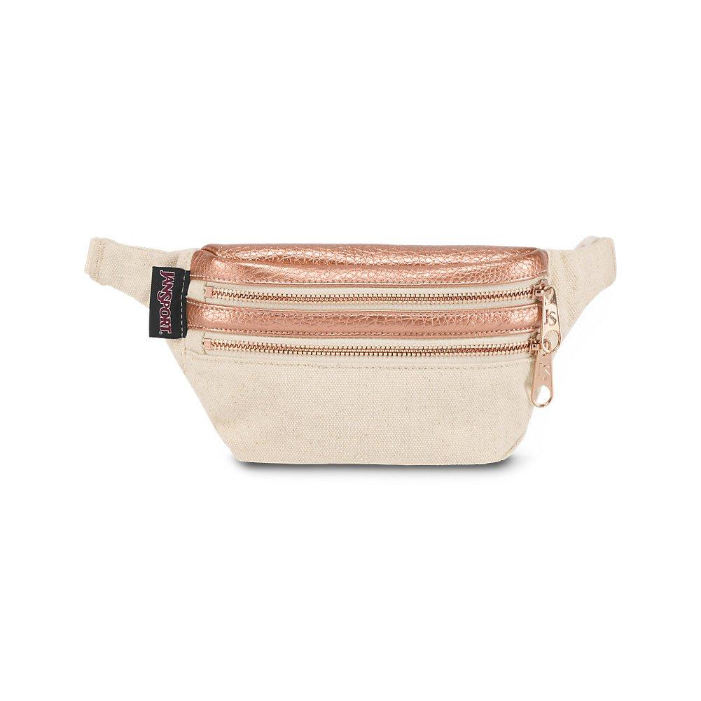 JanSport Hippyland Fanny Pack - Rose Gold - Adjustable Belt
