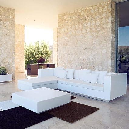 Amazon.com : Vondom Vela XL Sofa Right-Hand end Module Ecru ...