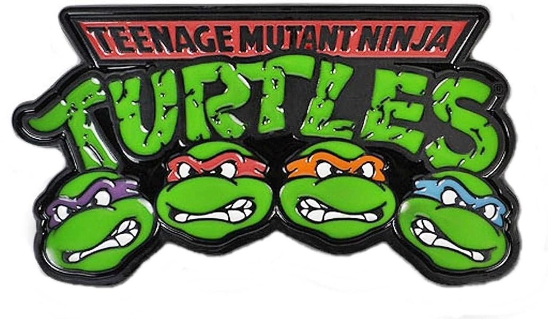 Amazon.com: Teenage Mutant Ninja Turtles 4 Characters Metal ...