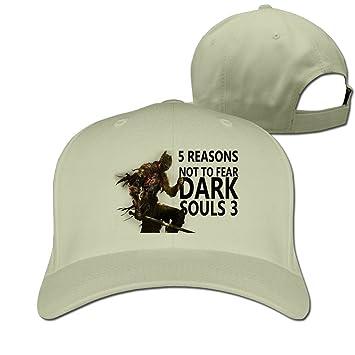 Hittings Dark Souls 3 Adjustable Hunting Peak Hat Cap Natural ... 61af4e33219