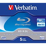 Verbatim 43748 - Discos de Blu-ray vírgenes (5 unidades)