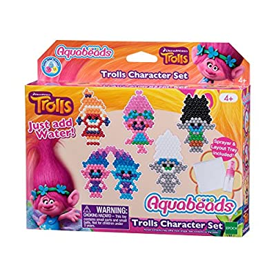 Aquabeads – 31288 – Trolls Pieces Set Childrens Craft Kit: Toys & Games