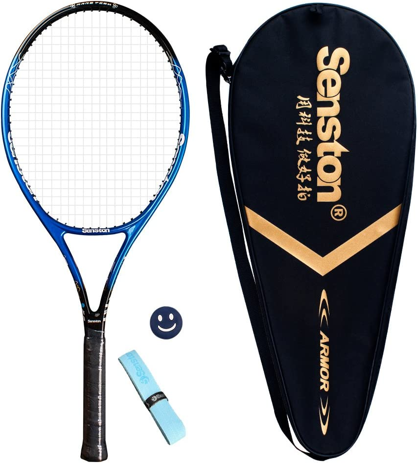 "Senston 19"" 23"" 27"" Kids Junior Tennis Racquet for Kids Children Boys Girls Tennis Rackets with Racket Cover"