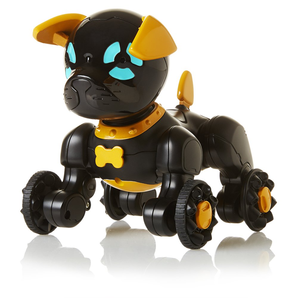 WowWee Chippies Robot Toy Dog -  Chippo (Black) by WowWee (Image #4)