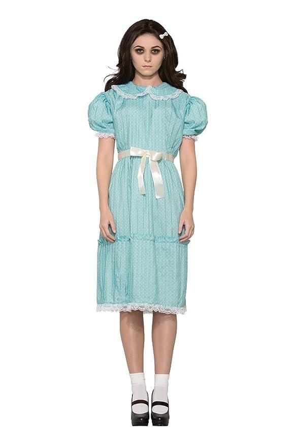 1940s Children's Clothing: Girls, Boys, Baby, Toddler Forum Womens Creepy Sister Costume Dress $25.42 AT vintagedancer.com