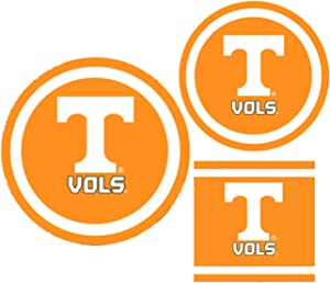 Tennessee Volunteers Party Supplies - Bundle Includes Paper Plates and Napkins for 10 People