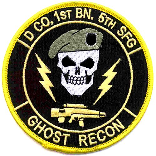 D Company 1st Battalion 5th Special Force Group Ghost Recon Color -
