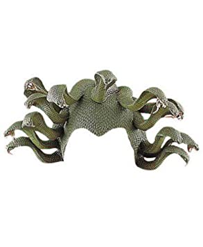 MyPartyShirt Medusa - Cabezal de látex para Serpiente