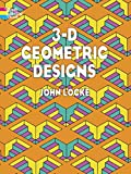 3-D Geometric Designs (Dover Design Coloring Books)
