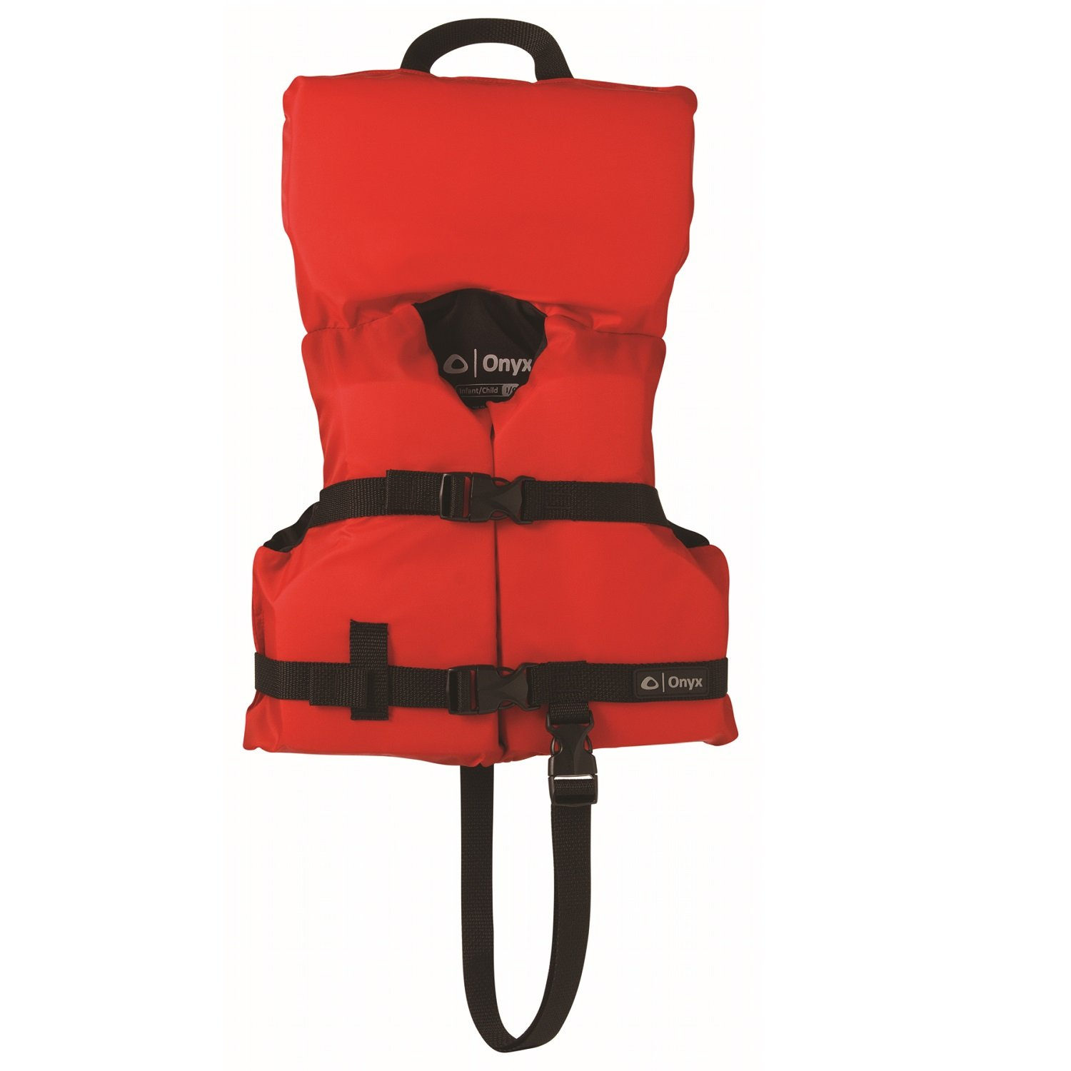 Onyx Infant/Child General Purpose Life Jacket, Red