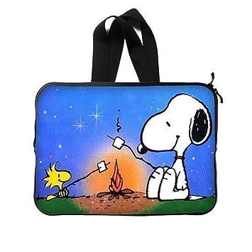 Funda para portátil bolsa de ordenador para portátil de 15, Snoopy (dos lados): Amazon.es: Informática