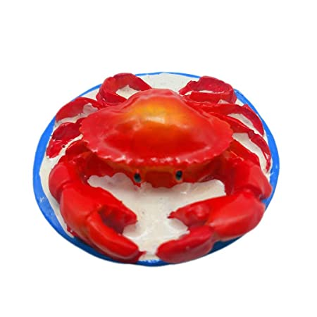 Hqiyaols Souvenir Alaska King Crab 3D Refrigerador Imán Nevera ...