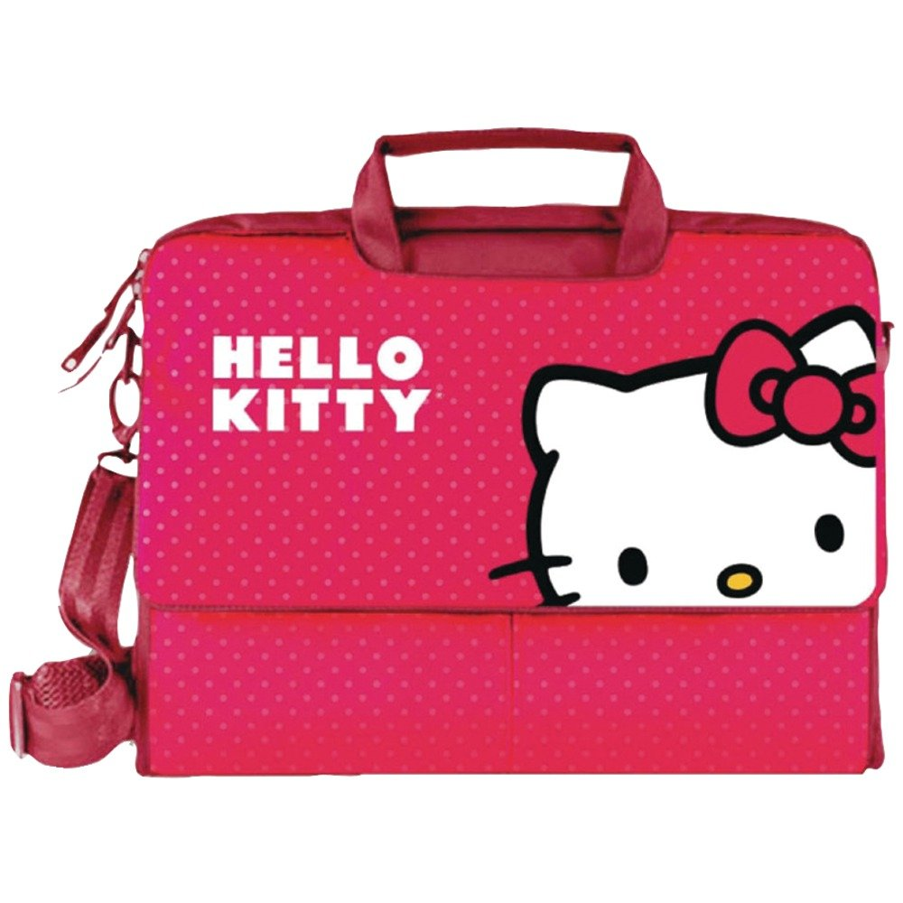 free shipping HELLO KITTY Notebook Bag (Red) (KT4335R)